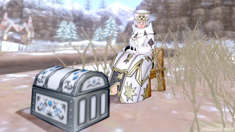 白宝箱と白ハレサ